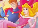 Раскрась принцессу Аврору