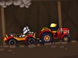 Крот на тракторе