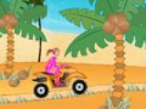 На квадроцикле по пляжу