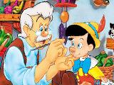 Пиноккио - онлайн раскраска