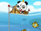 Рыбак панда