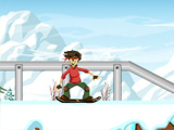 Скольжение сноуборда