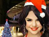 Селена Гомез на Рождество