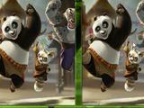Кунг-фу Панда найди отличия