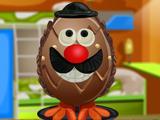 Украшение шоколадных яиц