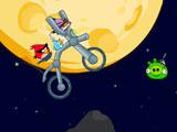 Злые птицы на космическом мотоцикле