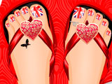 Дизайн рисунков на ногтях, флаги