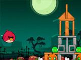 Злые птицы хэллоуин