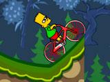 Симпсон на велосипеде