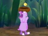 Лунтик собирает пыльцу