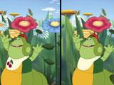Лунтик ищет отличия на картинках