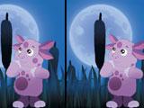 Лунтик ищет отличия ночью