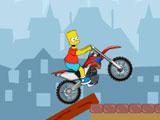 Барт на мотоцикле 2