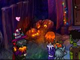 Поцелуи в хеллоуин