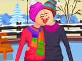 Катание на коньках в день св. Валентина