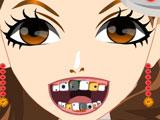 Девушка из колледжа у стоматолога