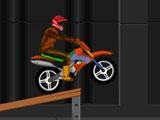 Трюки мотоциклиста