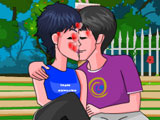 Поцелуй в парке