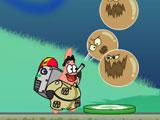 Губка Боб и Патрик охотники за грязными шарами