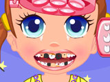 Уход за зубами малышки