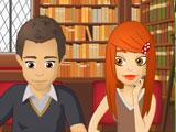 Поцелуй в библиотеке