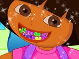 Украшение зубов Доры