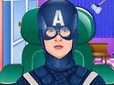 Капитан Америка лечит глаза