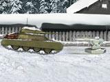 Зимний удар танка