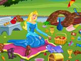 Принцесса Аврора убирает после пикника