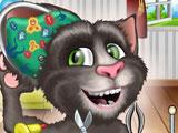 Говорящий Том кошачье ухо