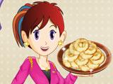 Кухня Сары: Готовить яблочные пончики