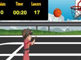 Бакуган играет в баскетбол