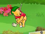 Винни Пух играет в гольф