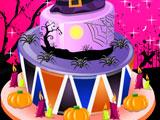 Украшение торта к Хэллоуину