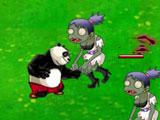 Панда против зомби