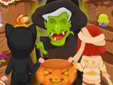 Жуткие заклинания в Хэллоуин