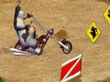 Рога и копыта: гонка на чопперах