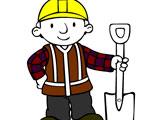 Боб строитель раскраска