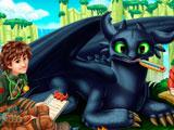 Как приручить дракона 2: Беззубик болеет