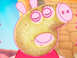 Макияж свинки Пеппы