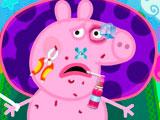 Пострадавшая свинка Пеппа