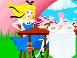 Алиса в Стране чудес: Декорации
