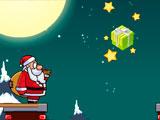 Санта преодолевает камины