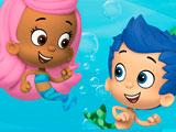 Гуппи и пузырики пазл: Гил и Молли
