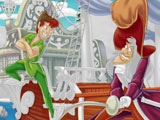 Питер Пен: Онлайн раскраска