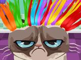 Злой кот в парикмахерской