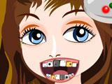 Современная девушка у дантиста