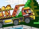 Транспортировка лего грузовиком
