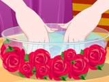 Маникюр ко дню святого Валентина