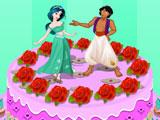 Торт принцессы Жасмин